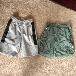 2 boys shorts. Size 7. Both in excellent condition